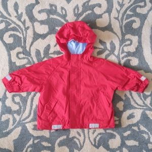 Hanna Andersson 80 (18-24m) mid weight hooded coat